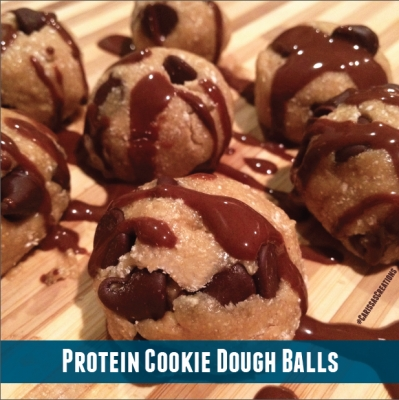 Protein Cookie Dough Balls