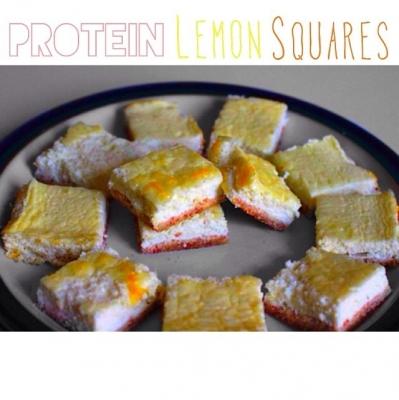 Protein Lemon Squares