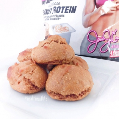Protein Peanut Butter Cookie Puffs