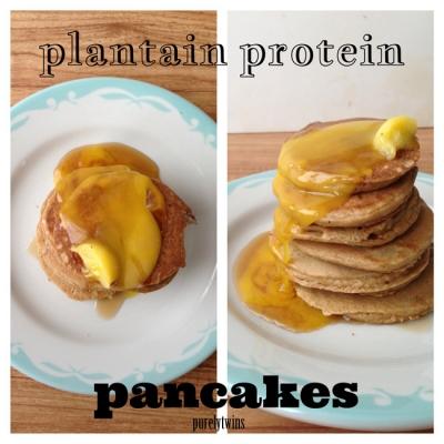 Protein Plantain Pancakes