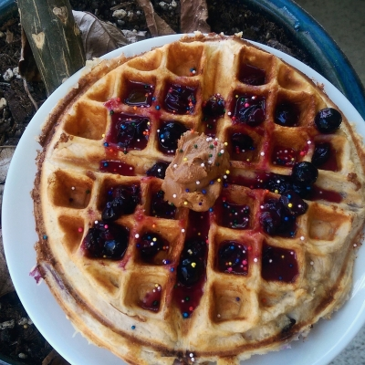 Protein Waffle (or Pancakes)