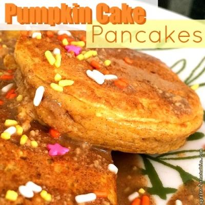 Pumpkin Cake Pancakes