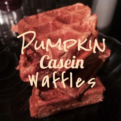 Pumpkin Casein Waffle