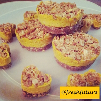 Pumpkin Crumble Cups