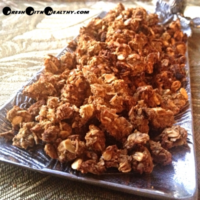 Pumpkin Peanut Butter No Sugar Granola