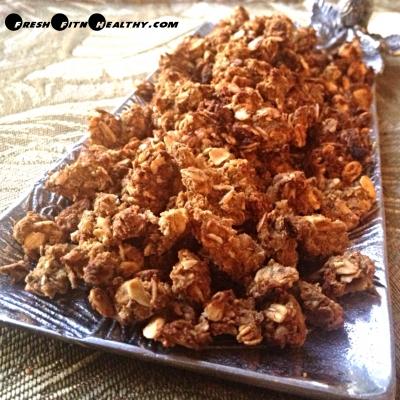 Pumpkin Peanut Butter No Sugar Granola