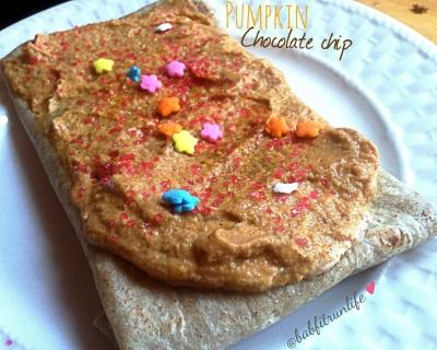 Pumpkin Chocolate Chip Quest Poptart