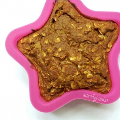 Pumpkin Pie Protein Baked Oatmeal.