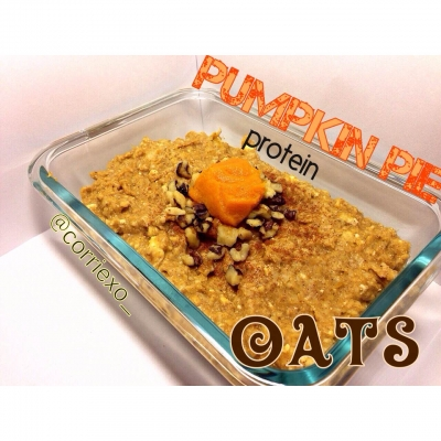 Pumpkin Pie Protein Oats