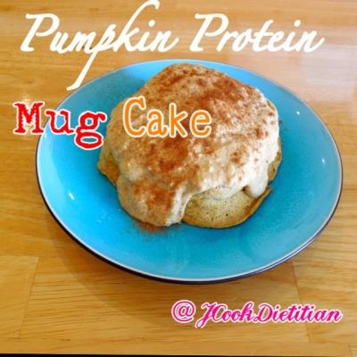 Pumpkin Protein Mugcake