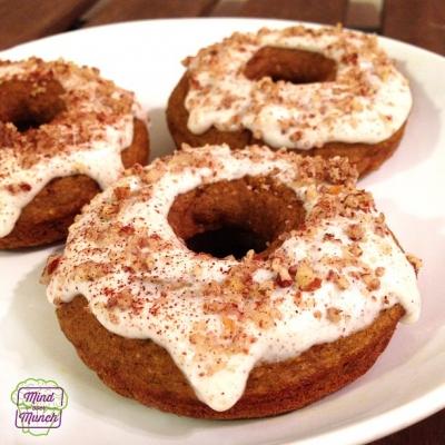 Pumpkin Spice Cake Donuts