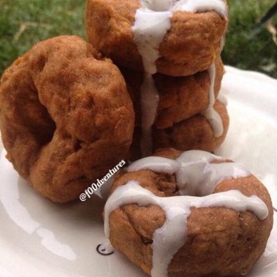 Five Minute Pumpkin Spice Donuts