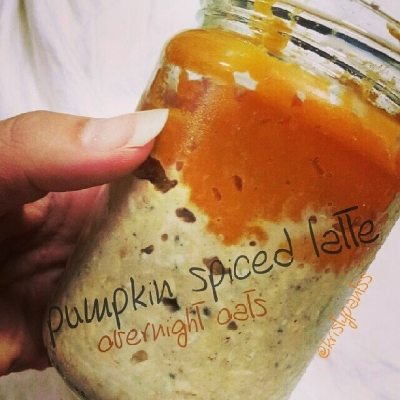 Pumpkin Spiced Latte Overnight Oats