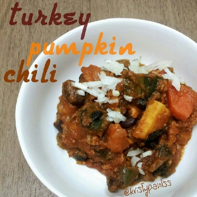 Pumpkin Turkey Chili