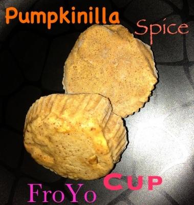 Pumpkinilla Spice Froyo Cup