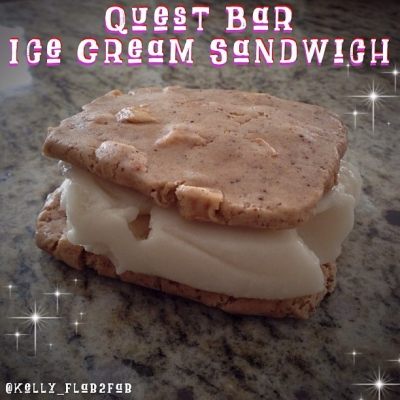Quest Bar Ice Cream Sandwich