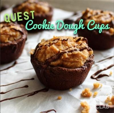 Quest Cookie Dough Cups