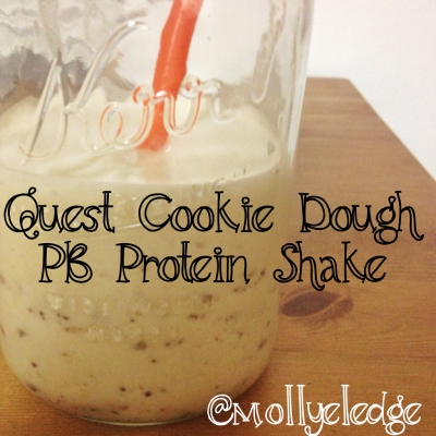 Quest Cookie Dough Pb Protein Shake