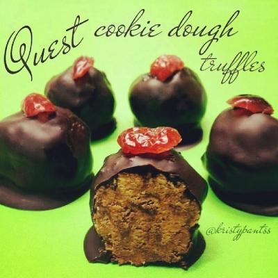Quest Cookie Dough Truffles