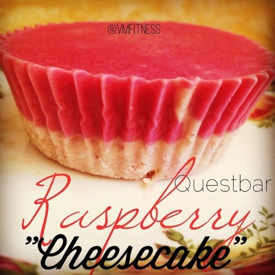 Questbar Raspberry Cheesecake