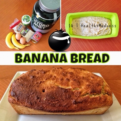 Quick and Simple Protein Banana Bread
