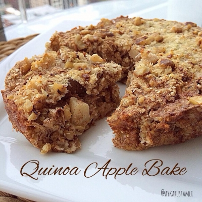 Quinoa Apple Bake