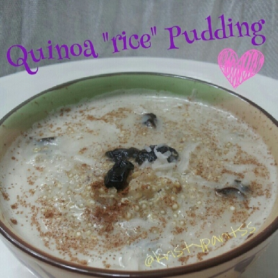Quinoa Rice Pudding