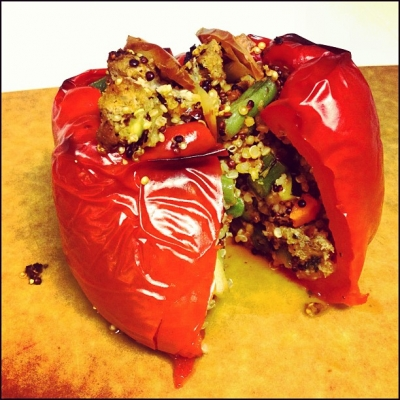 Quinoa Stuffed Pepper