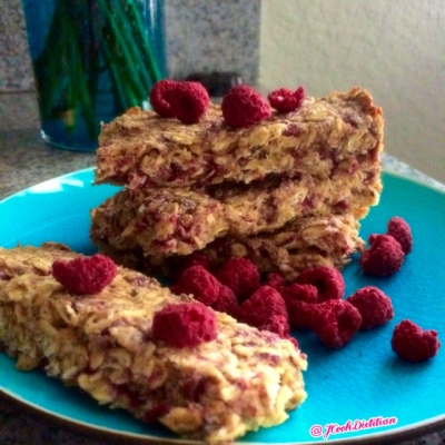 Raspberry Coconut Protein Bar