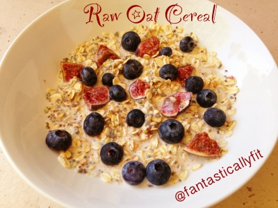 Raw Oat Cereal