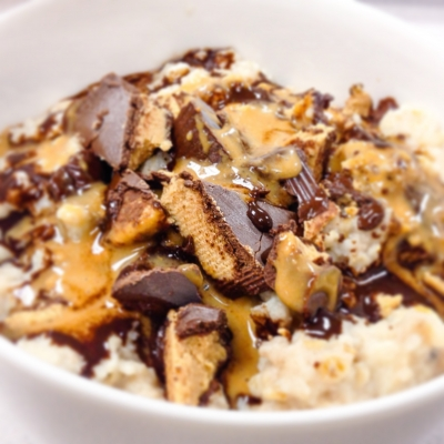 Reese Peanut Butter Oatmeal
