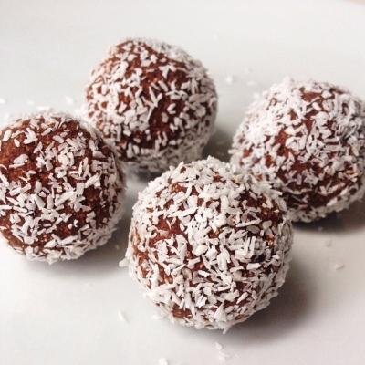 Rocky Road Protein Truffles