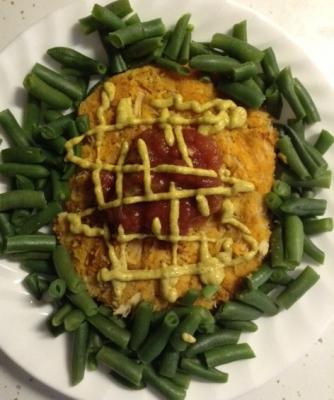 Seared Sweet Chicken Patty