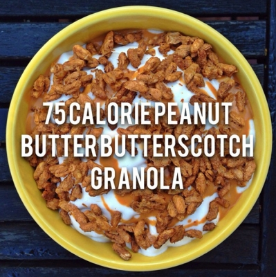 Seventy-Five Calorie Peanut Butter Butterscotch