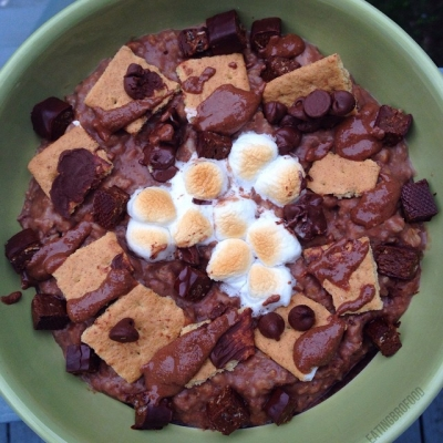 S'Mores Protein Oatmeal