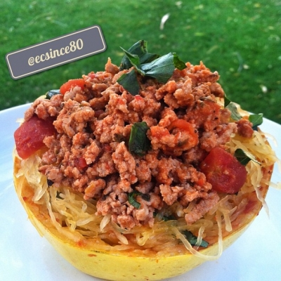 Spaghetti In Squash