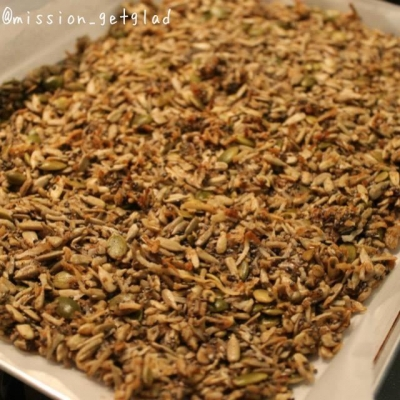 Spiced Coconut Seed Crunch