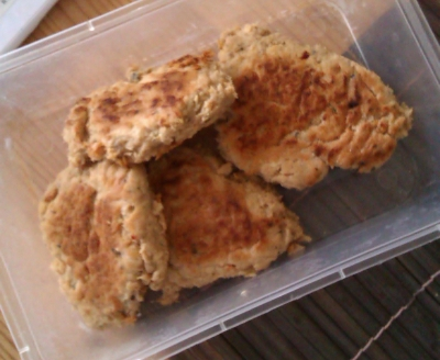 Spicey Salmon Fish Cakes
