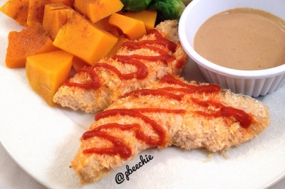 Spicy Coconut Chicken Tenders