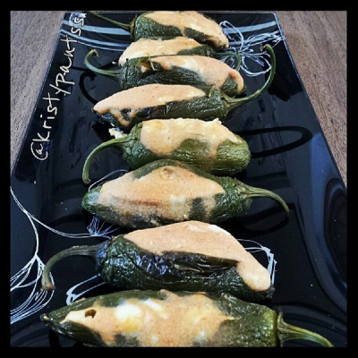 Spicy Stuffed Jalapenos