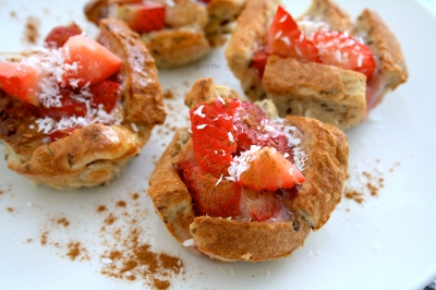Strawberry French Toast Cups
