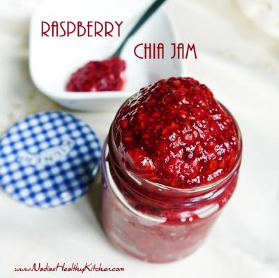 Sugar-Free Raspberry Chia Jam