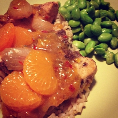Sweet and Spicy Citrus Crock Pot Chicken