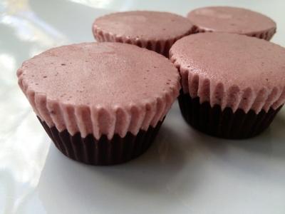 Sweet Cherry Froyo Bites