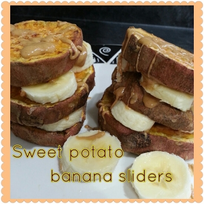 Sweet Potato Banana Sliders