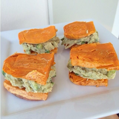 Sweet Potato Burgers