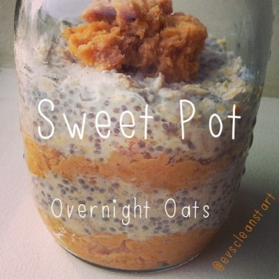 Sweet Potato Overnight Oats!