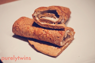 Sweet Potato Protein Yogurt Wrap