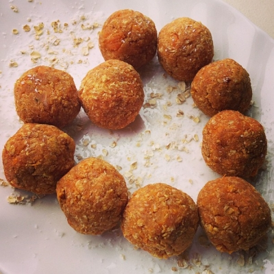 Sweet Potato Truffles