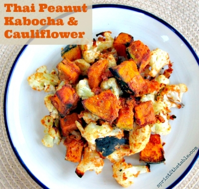 Thai Peanut Kabocha & Cauliflower